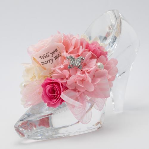 シンデレラのガラスの靴の画像