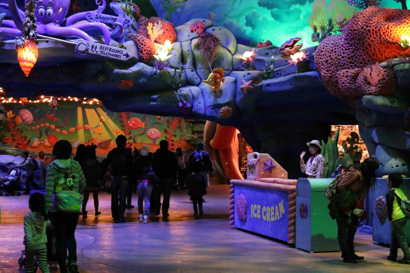ディズニーシーのアイスワゴンの場所の画像