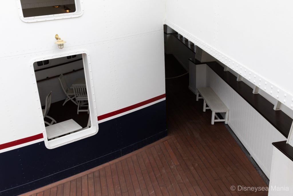 S.S.コロンビア号のベンチの画像