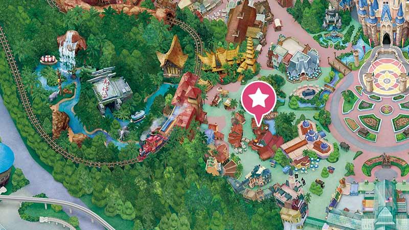 チャイナボイジャーの地図