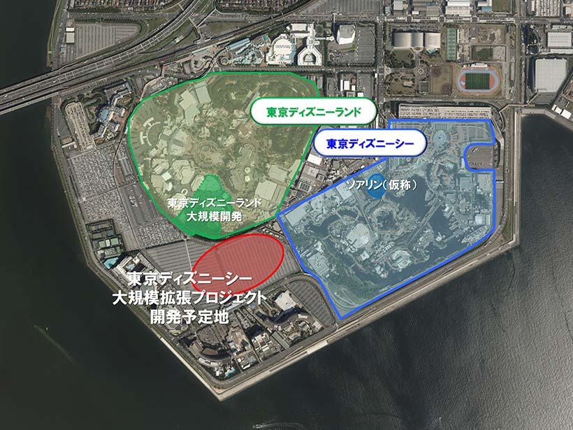 東京ディズニーシー大規模拡張プロジェクトの画像