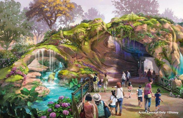 ファンタジースプリングス 入口のイラスト