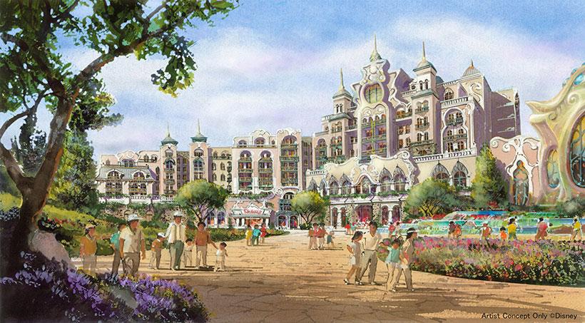 ファンタジースプリングス ホテルのイラスト