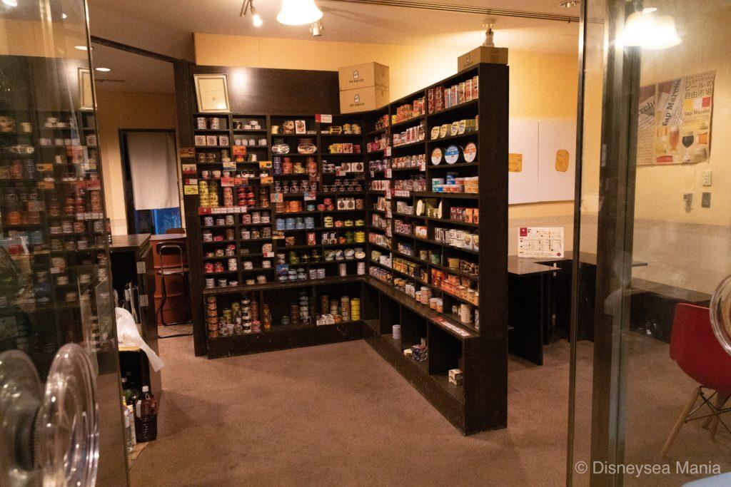 アパホテル幕張の缶詰バーの画像