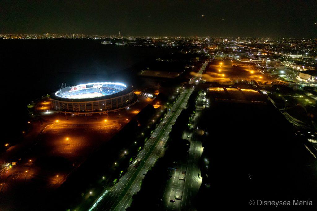アパホテル幕張の夜景の画像