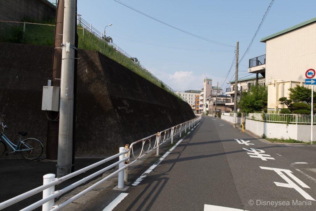 【変なホテル舞浜】舞浜駅からの行き方(徒歩)の途中画像
