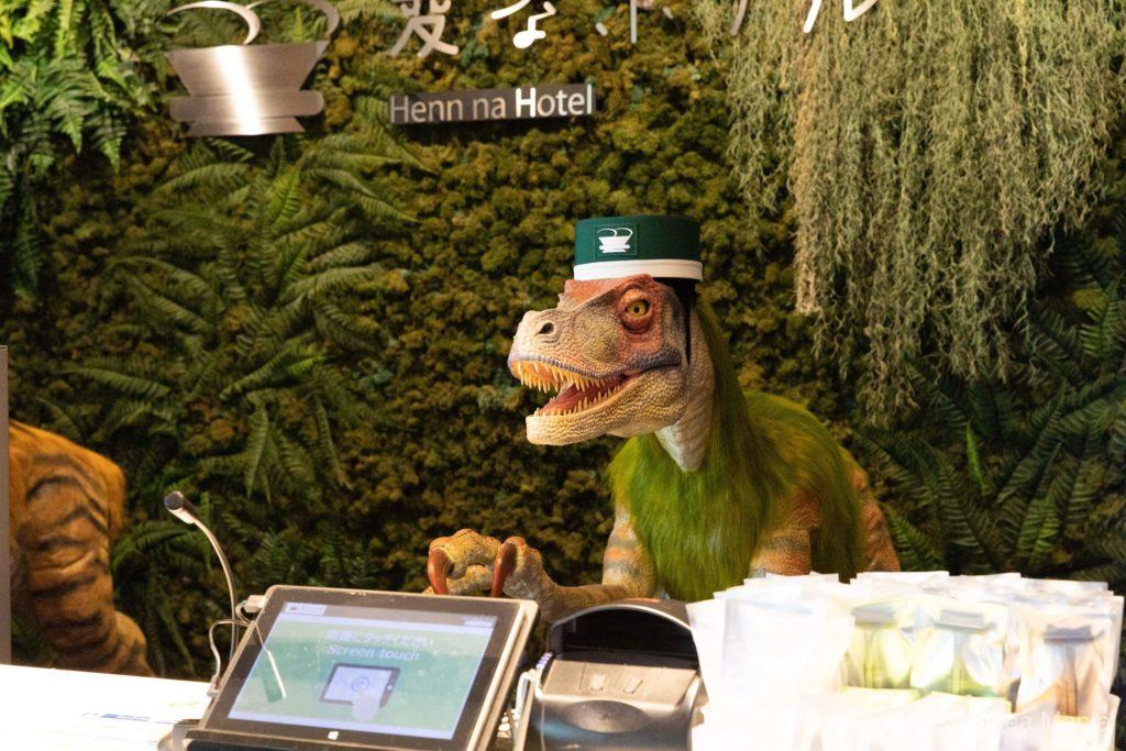 【変なホテル舞浜】ロビーの画像