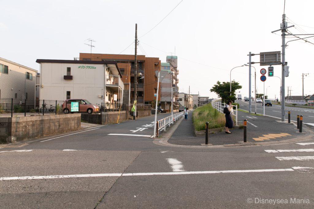 【変なホテル舞浜】舞浜駅への行き方の途中画像