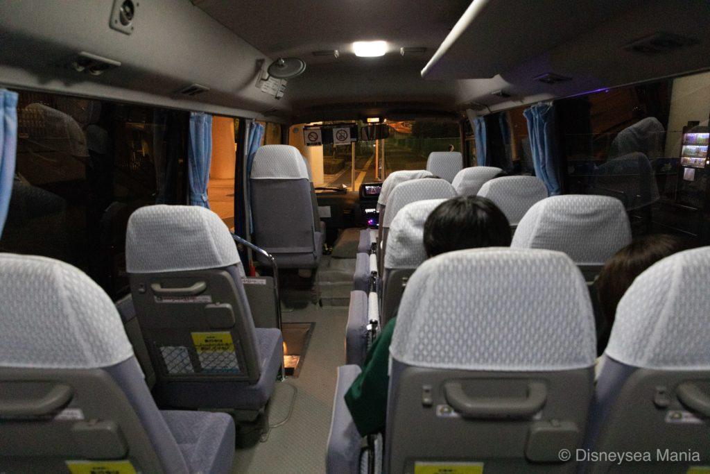 【変なホテル舞浜】シャトルバスの画像