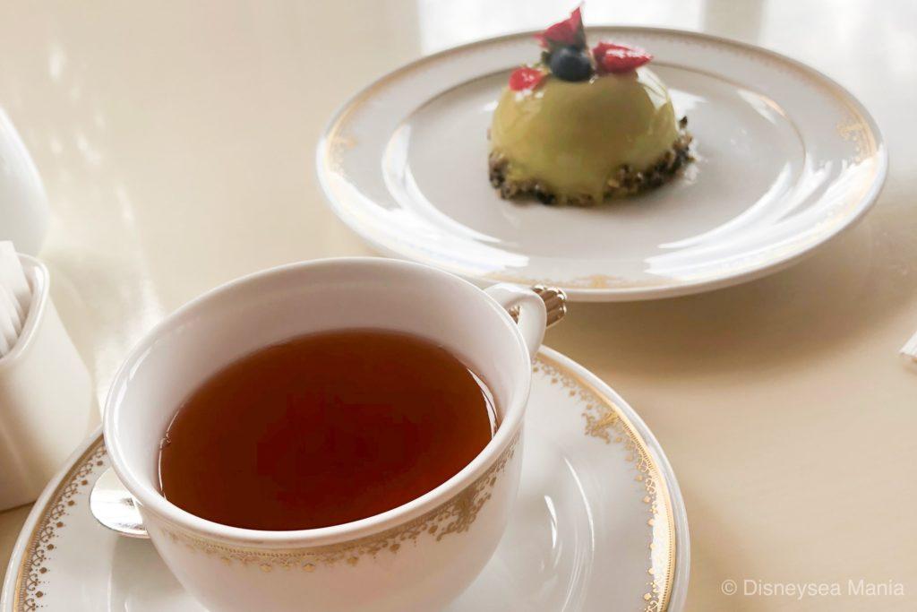 ホテルミラコスタのベッラヴィスタ・ラウンジのケーキセットの画像