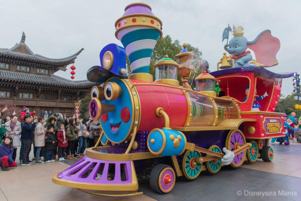 ミッキーのストーリーブック・エクスプレス(上海ディズニー)の画像