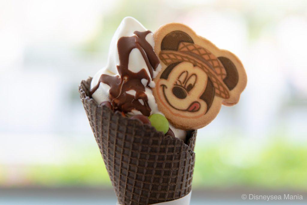 ソフトクリーム&チョコレート(2019ディズニーランド)の画像