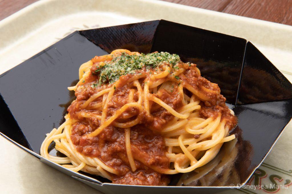 クリーミースパゲッティ、ミートソースの画像(ザンビーニ・ブラザーズ・リストランテ:東京ディズニーシー)