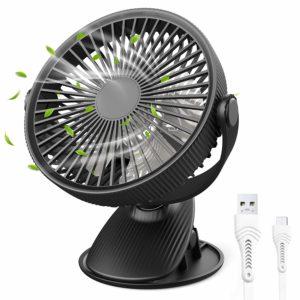 クリップ扇風機の画像