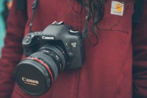 canonのカメラの画像