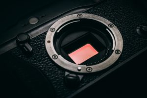 カメラのセンサーの画像