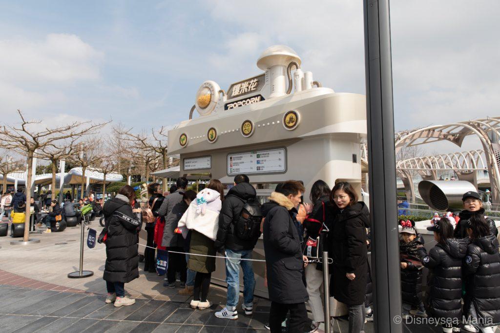 ポップコーンワゴン(上海ディズニーランド)の画像