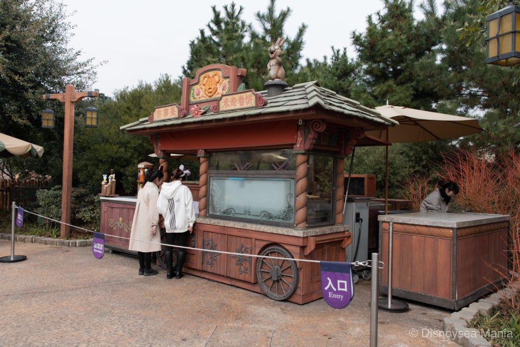 プレッツェル&チュロス・コート(上海ディズニーランド)の画像