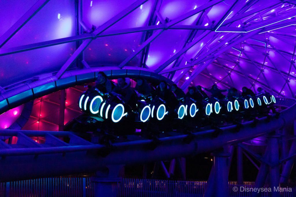 トロン・ライトサイクル・パワー・ラン(上海ディズニー)の画像