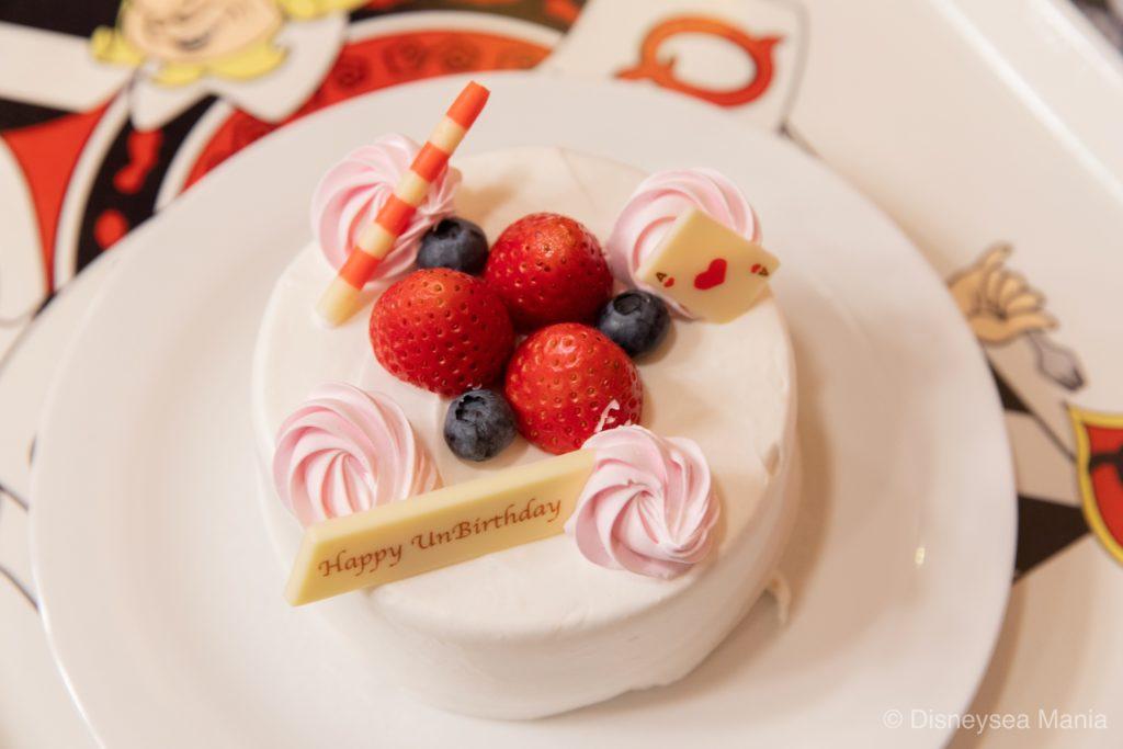 アンバースデーケーキ(ディズニーランド:クイーン・オブ・ハートのバンケットホール)の画像