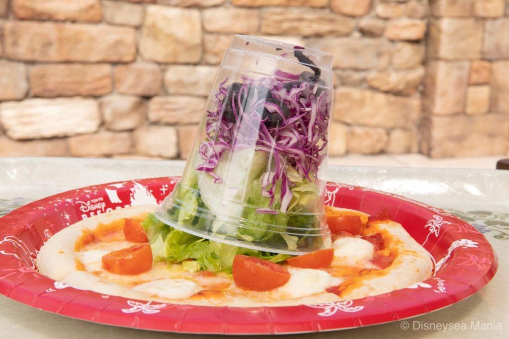 サラダピッツァはおいしくない【ザンビーニ・ブラザーズ・リストランテ:ディズニーシー】