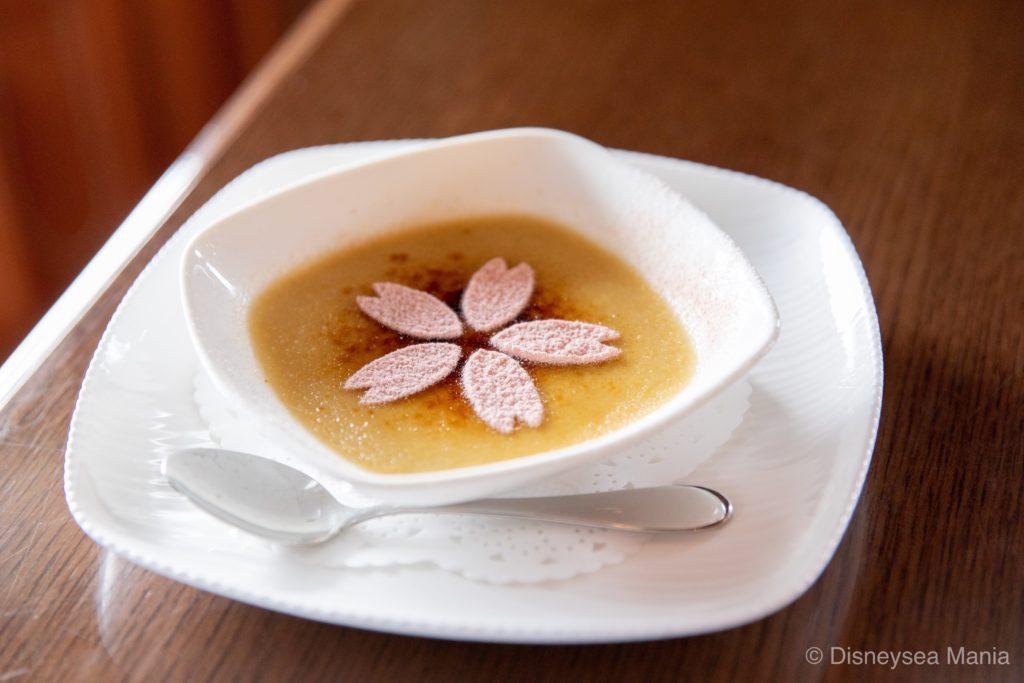 きなこのクレームブリュレ(レストラン櫻@東京ディズニーシー)の画像