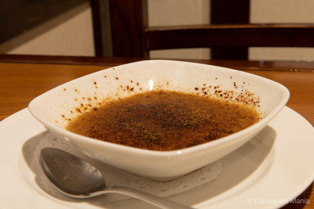 ほうじ茶のクレームブリュレ(れすとらん北齋@東京ディズニーランド)の画像