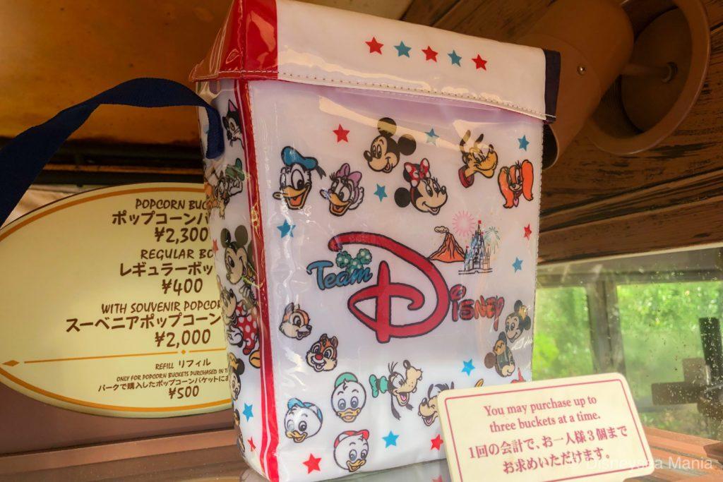 2019年8月9日新発売ポップコーンケース(東京ディズニーランド・東京ディズニーシー)の画像