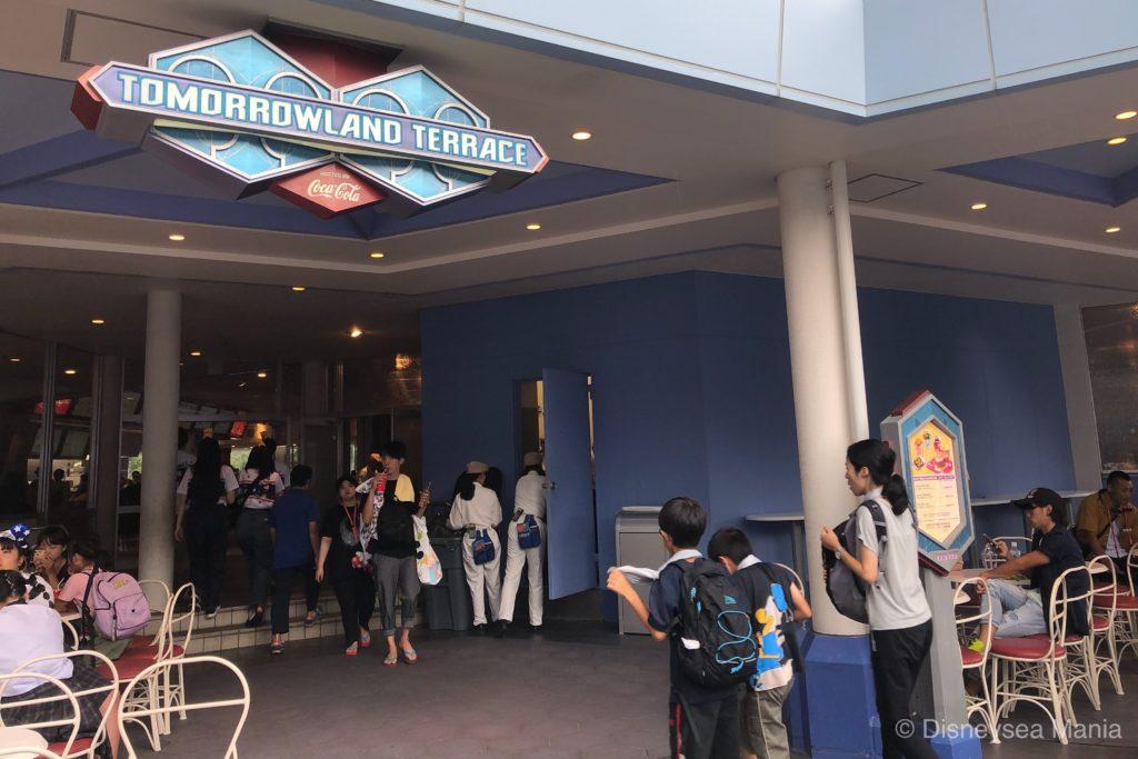 トゥモローランド・テラス(東京ディズニーランド)の画像
