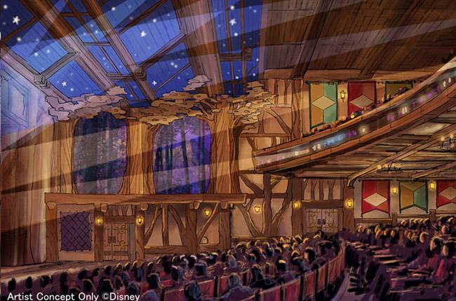 フォレストシアター(東京ディズニーランド)のコンセプト画像