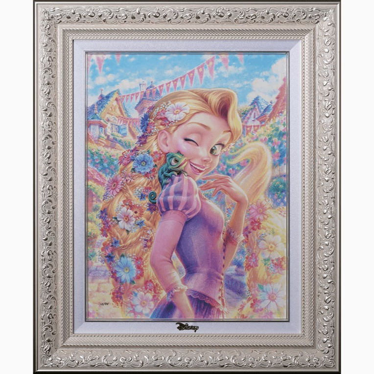 ディズニーアートコレクション展のアート(絵画)の画像