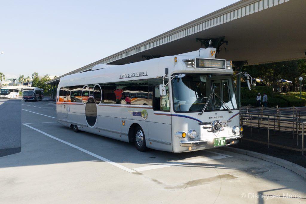 ディズニーの送迎バスの画像