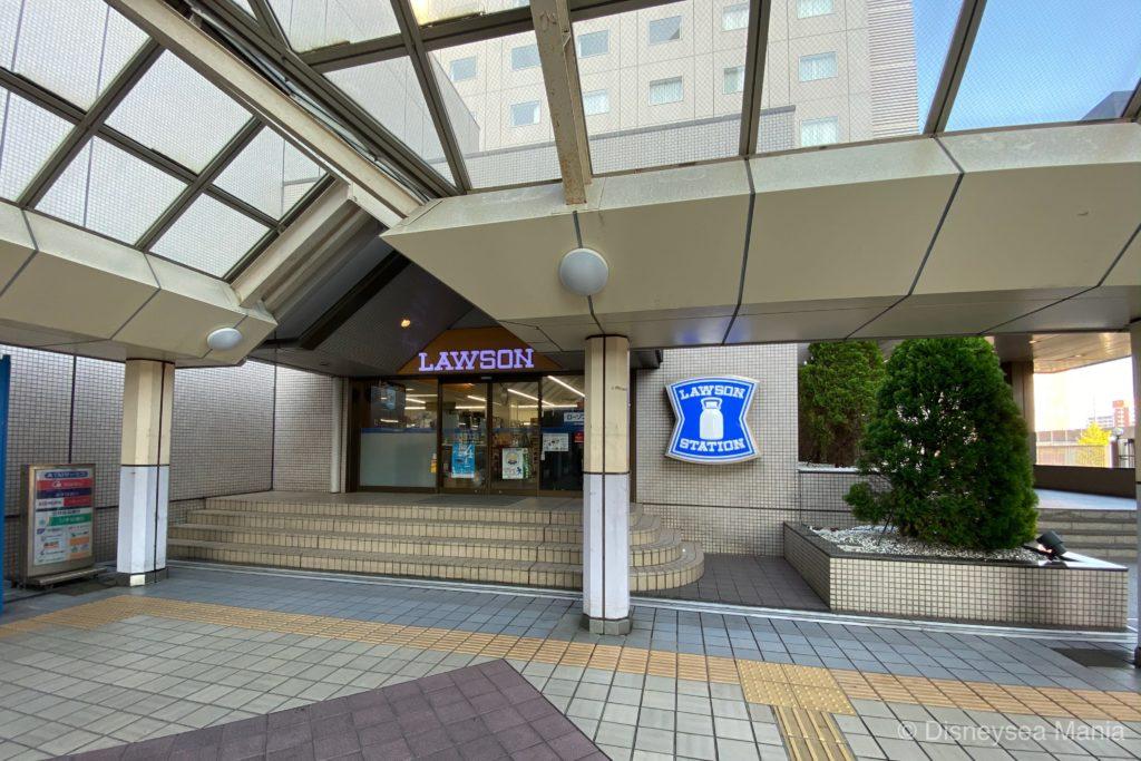オリエンタルホテル東京ベイ横のローソンの画像