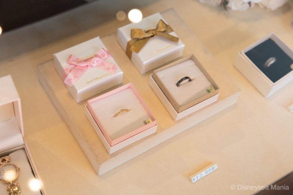 ディズニーランド・シーで買える指輪(リング)の画像