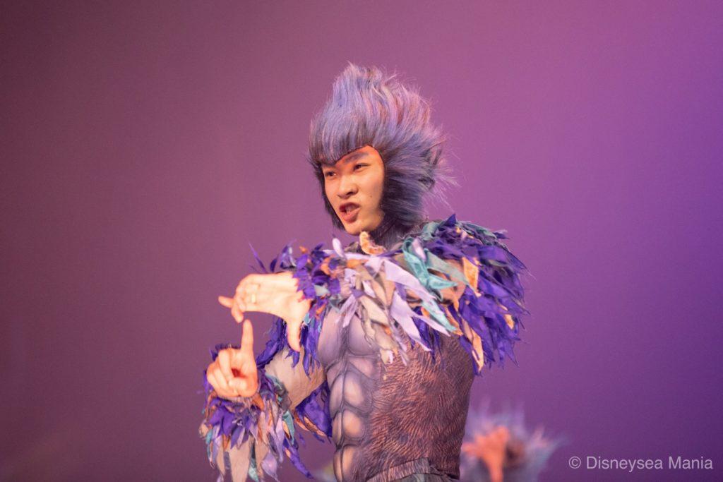 上海ディズニーのショー「ターザン:コール・オブ・ザ・ジャングル」の画像