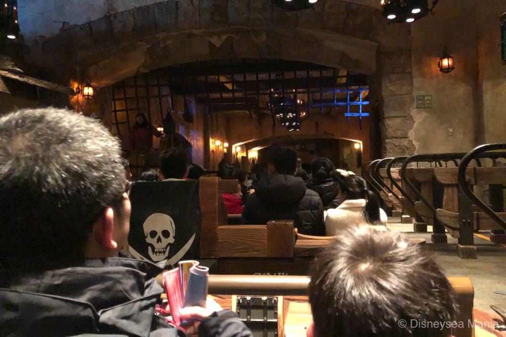 上海ディズニーランドのアトラクション「カリブの海賊」の画像