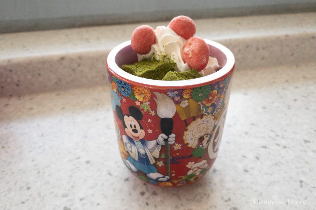 【正月限定】ディズニーの湯のみムースの画像