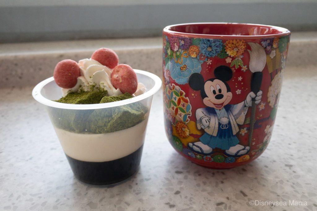 【正月限定】ディズニーの湯のみムース