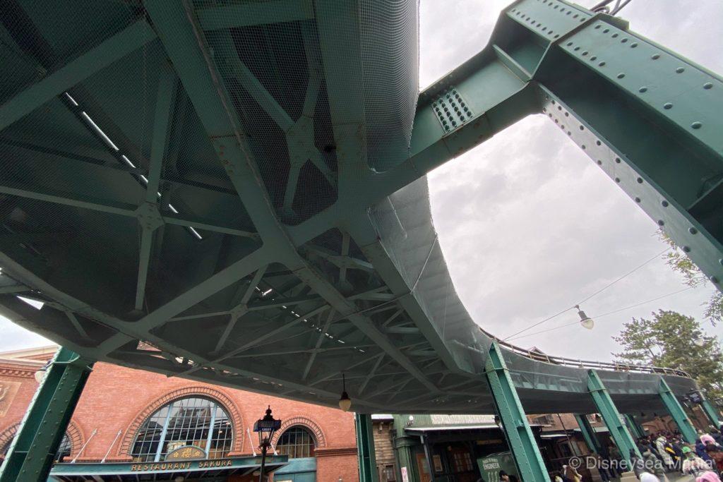 エレクトリックレールウェイの線路の画像
