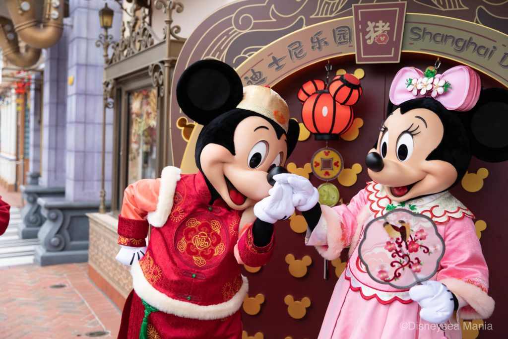 【上海ディズニー】ミキミニのペアグリーティングの画像(ミッキー・アベニュー)