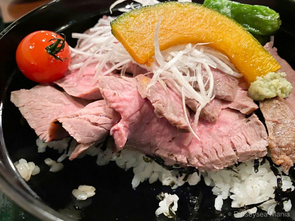 レストラン櫻のローストビーフ丼の画像